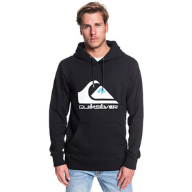 Quiksilver Omni Logo Screen Fleece Hoodie Heren, black